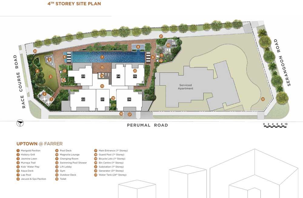 uptown-at-farrer-site-plan